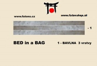 bed in bag - farva natural skladom